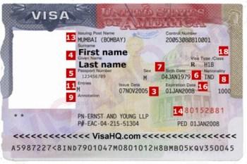 Visa loai B2 - Visa di du lich My